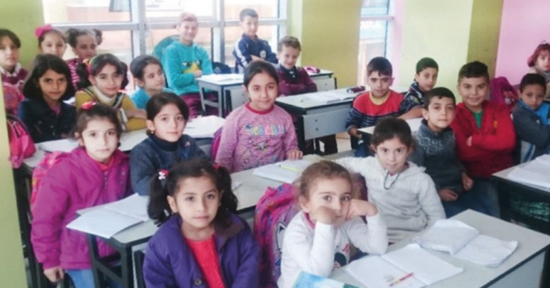 Support To Syrian Primary Schools