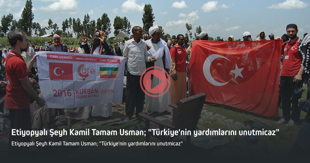 "Sheik Kamil Tamam Usman said that ""we will never forget the aid from Turkey"""