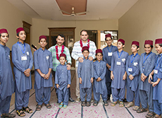 Visiting To Çare Orphanage In Pakistan