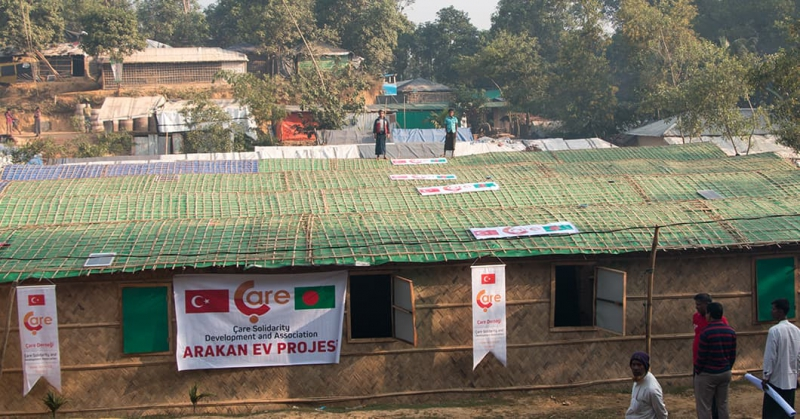 Construction Of The Arakan Bambu Houses  Continue Quickly