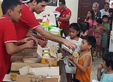 Aids For Philippine Flood Disaster Are Continued