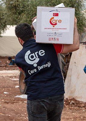 Humanitarian Aid To Afrin -Eastern Ghouta People