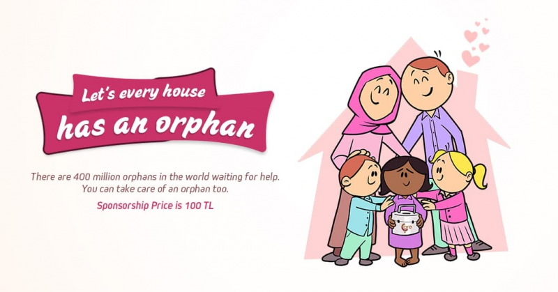 Let's Every House Adopts An Orphan