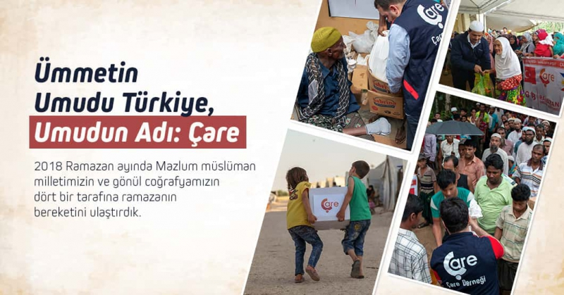Hope Of Ummah Is Turkey, Name Of The Hope Is: Çare