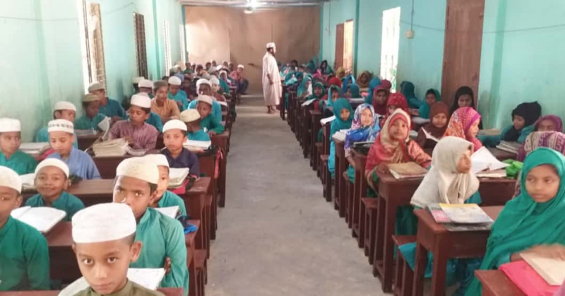 Children From Bangladesh Finally Met Their School Tables!