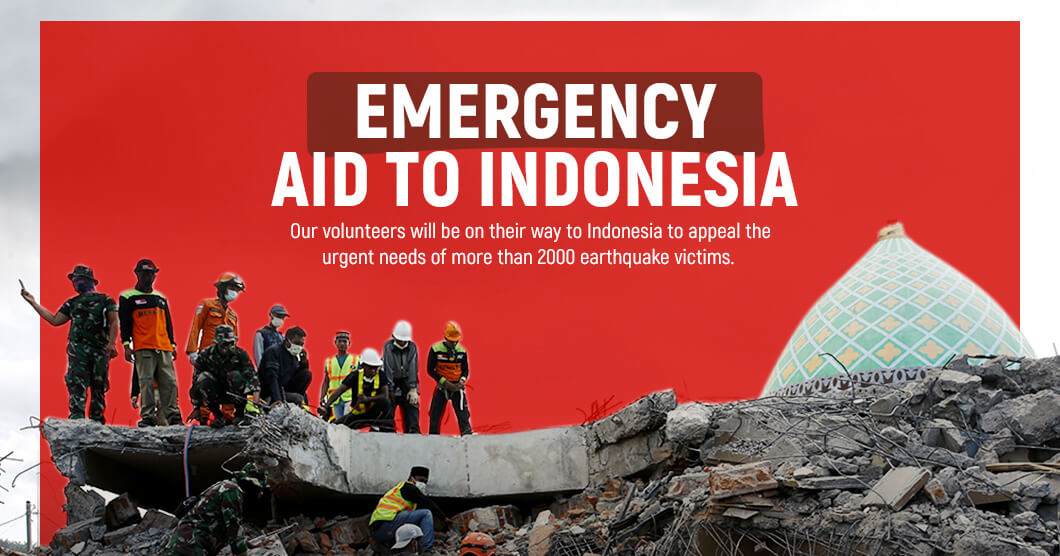 Emergency Aid To Indonesia