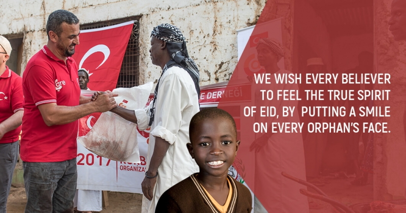 We Wish, This Eid Every Mumeen Enjoys It , Every Orphan Smiles