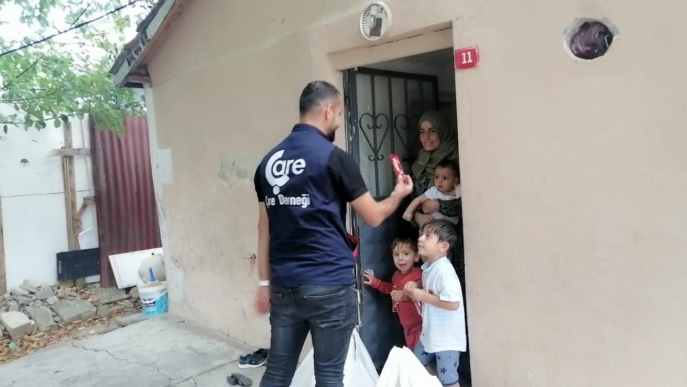 Aid to Syrian Families
