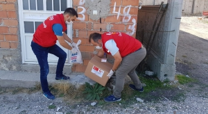 Food Aid to Two Villages Under Quarantine