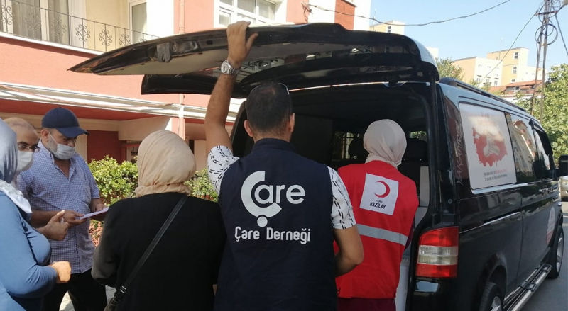 Timely Help to Needy Families in Umraniye