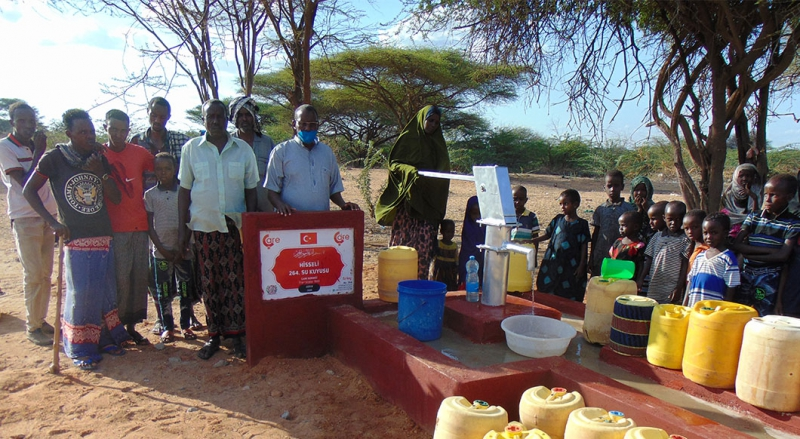 264. Shared Water Well has Opened in Kenya!