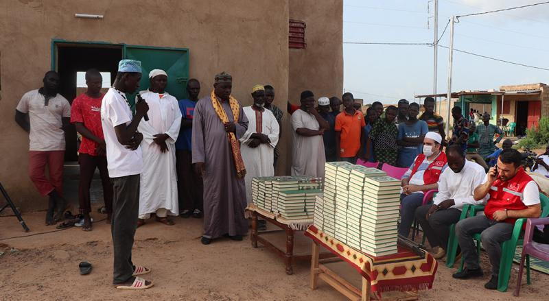 Quran Distribution to Local People in Burkina Faso