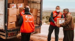 4 Trucks of Food and Clothing Aid to Hundreds of Families in Idlib!